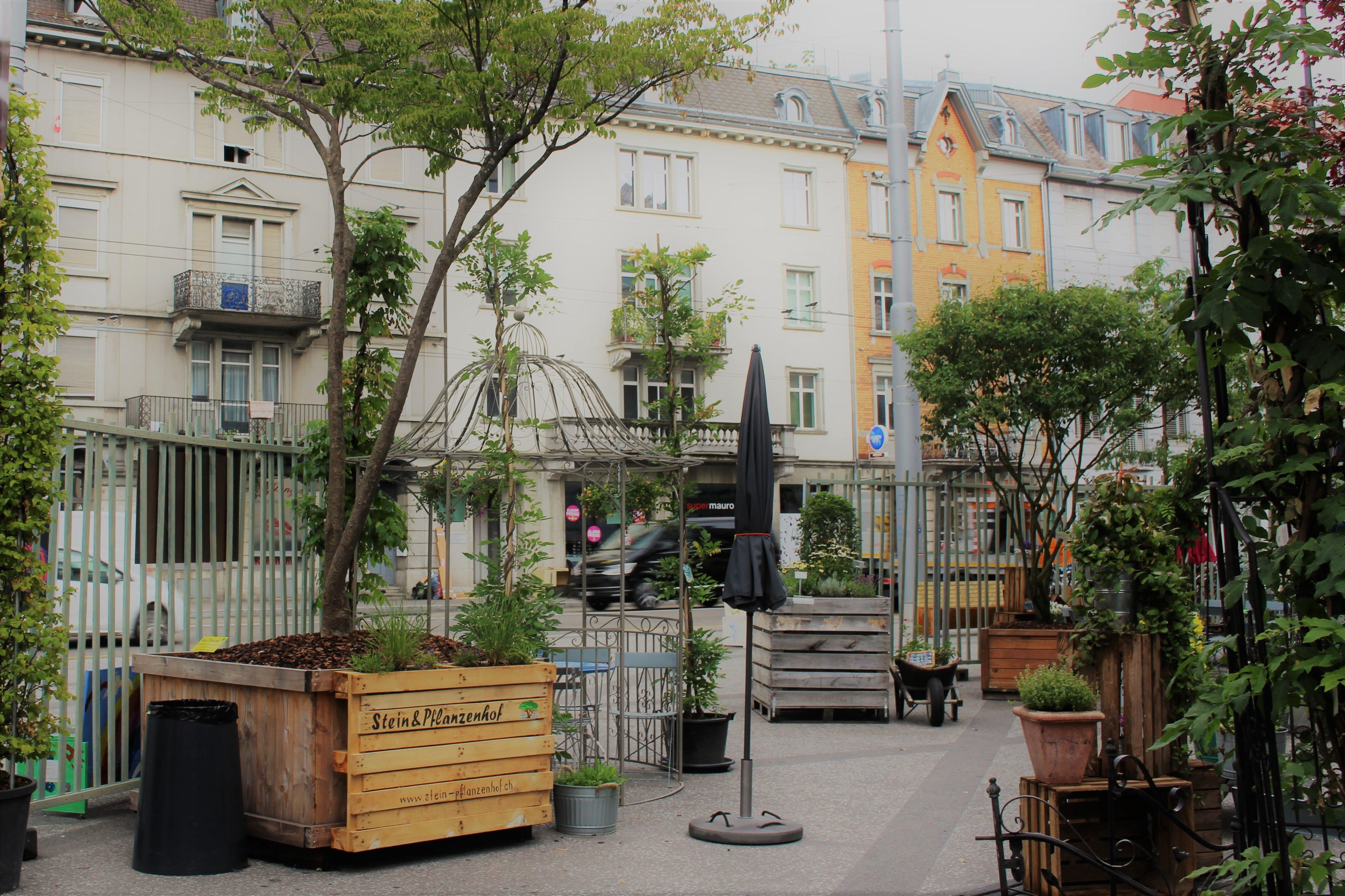 Garten Café Archhöfe